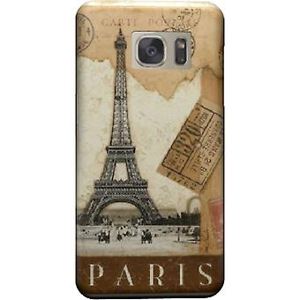 Kill Paris cover old postcard stamps for Galaxy S6