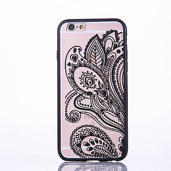 Mobile Shell mandala for Huawei P9 design case cover motif flower cover case bumper black