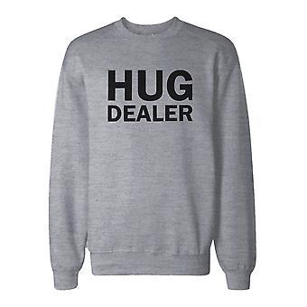 Hug Dealer Cute Sweatshirt Back To School Unisex Sweat Shirt