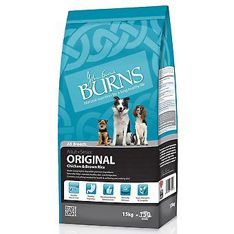 Burns oprindelige Adult kylling 15kg