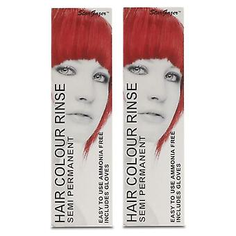 Stargazer Semi-Permanent Hair Colour Dye GOLDEN FLAME (2-Pack)