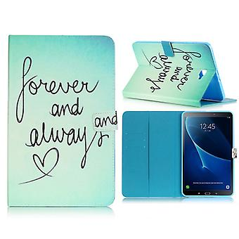 Cover motif 78 case for Samsung Galaxy tab A 10.1 T580 / T585 2016