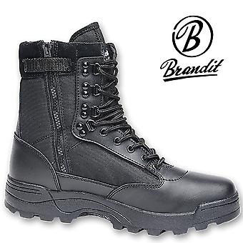 Brandit mens shoes tactical zipper