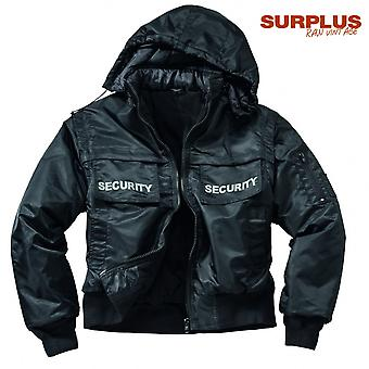 Surplus jacket security jacket
