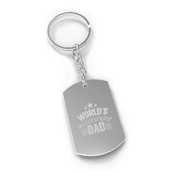 World's Greatest Dad Nickel Key Chain Unique Gifts For Dad Birthday
