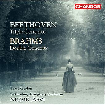 Beethoven/Brahms - Beethoven: Triple Concerto; Brahms: Concerto pour Double [CD] USA import