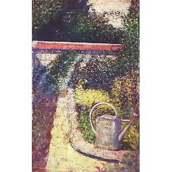 Georges Seurat - Tuin Poster Print Giclee