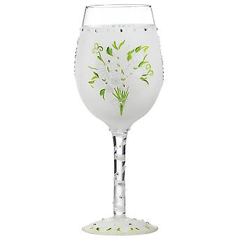 Lolita Wedding Bouquet Wine Glass