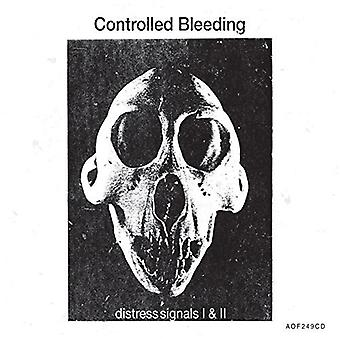Controlled Bleeding - Distress Signals I & II [CD] USA import