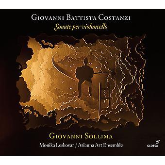Costanzi, Giovanni Battista / Sollima / Leskovar - Giovanni Battista Costanzi: Sonate pr. Violoncello [CD] USA import