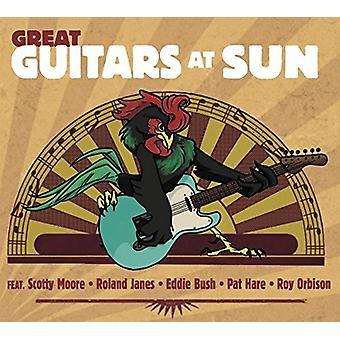 Forskellige kunstner - store guitarer på solen [CD] USA import