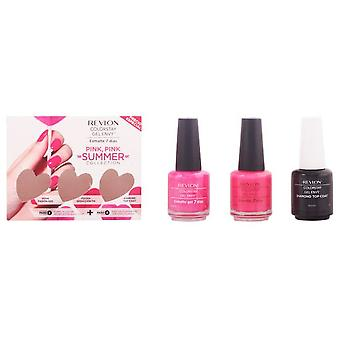 Revlon Colorstay Envy Gel Pink Pink Summer Pack 3 Pieces
