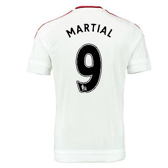 2015-2016 Man Utd Away Shirt (Martial 9)