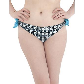 Curvy Kate Cocoloco Topaz Tie Seite Bikini kurze CS2315