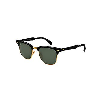 Solbriller Ray - Ban Clubmaster aluminium bredt RB3507 136/N5 51
