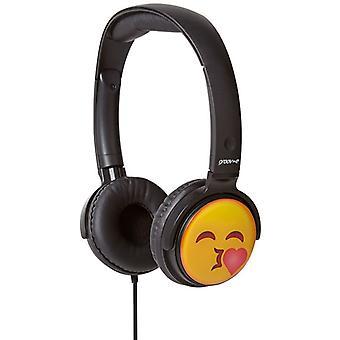 Groov-e EarMOJI dzieci słuchawki Całowanie twarz (nr kat. GVEMJ14)