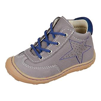 Ricosta Sami Graphit Tinte Barbados Velour 1225200452   infants shoes