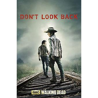 Walking Dead - Dont Look Back Poster Poster Print