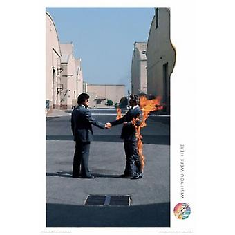 Pink Floyd - Wish You Were Here Poster Poster Print