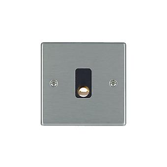 Hamilton Litestat Hartland Satin Stainless 20A Cable Outlet BL