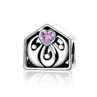 Sterling silver charm Loving home SCC255