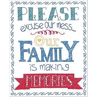 Making Memories Stamped Embroidery Kit-8