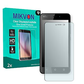 Wiko Freddy Screen Protector - Mikvon Clear (Retail Package with accessories)