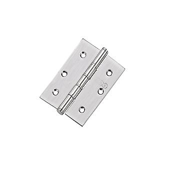 Zoo Slim Knuckle Bearing Hinge - SS201 - Satin Stainless - ZHSS352S