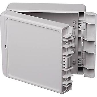 Wall-mount enclosure, Build-in casing 125 x 151 x 60 Acrylonitrile butadiene styrene
