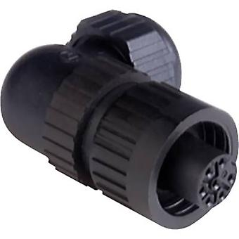 Hirschmann 934 131-100 CA 6 W LD CA Series Mains Voltage Connector Nominal current (details): 10 A/AC/DC Number of pins:
