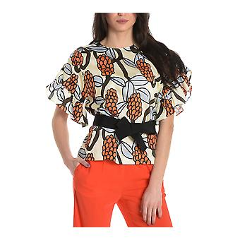 Jucca ladies J2712055045 white cotton blouse