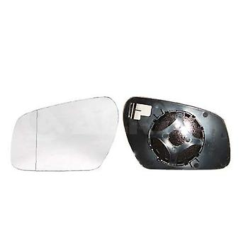 Left Mirror Glass (not heated) & Holder For FORD MONDEO Mk3 Saloon 2003-2007