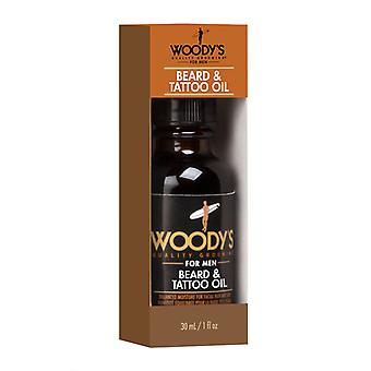 Woodys Beard & Tattoo Oil