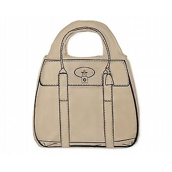 Shopperholic Shopping Bag - Champagne Brown