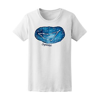 Capricorn Zodiac Sign  Tee Women's -Image by Shutterstock