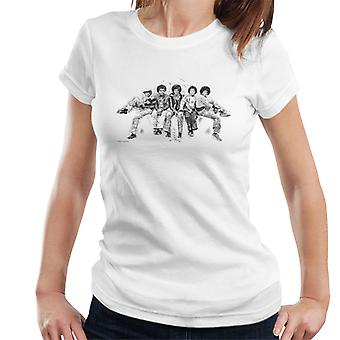 Jackson 5 At Hyde Park Corner 1977 Women's T-Shirt