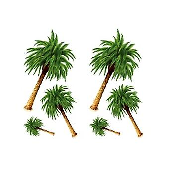 Palm Tree Props (6 In A Pack)