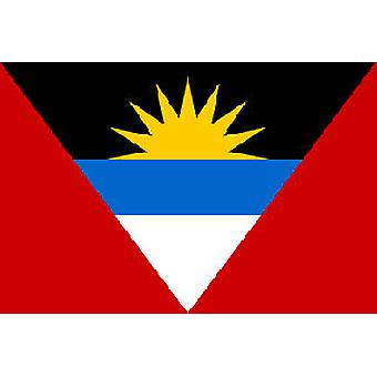Antigua & Barbuda Flag 5ft x 3ft With Eyelets For Hanging
