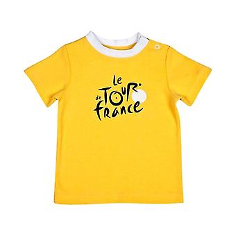 Tour de France Baby Leader T-Shirt - Yellow - 2018