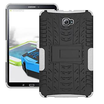 Hybrid outdoor protective cover case white for Samsung Galaxy tab A 10.1 T580 / T585 2016 bag