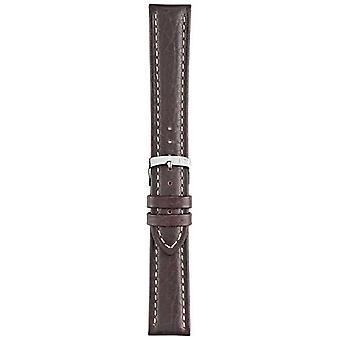 Morellato Strap Only - Kuga Genuine Leather Brown 20mm A01U3689A38032CR20 Watch