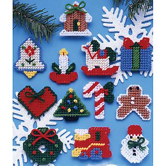 Country Christmas Ornaments Plastic Canvas Kit-2