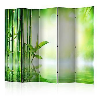 Room Divider - groene bamboe II [Room Dividers]