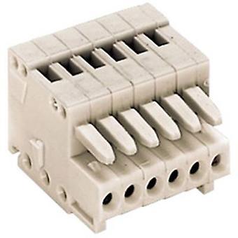 WAGO Socket låda - kabel 733 totala antalet pins 3 kontakt avstånd: 2,50 mm 733-103 1 dator