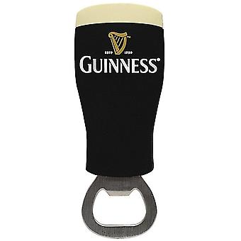 Guinness Pint Glass Shaped Bottle Opener / Fridge Magnet (2158C)