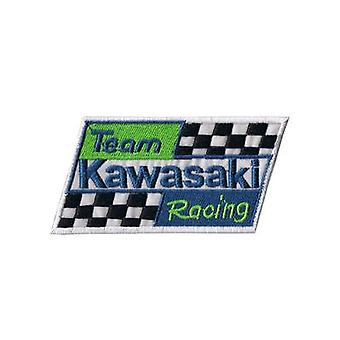 Equipo Kawasaki hierro-/ coser en tela parche