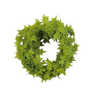 3m Mini Garland for Christmas Crafts and Decor - Light Green Ivy