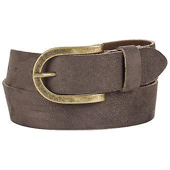 s.Oliver women's leather belt 32.608.95.7367-8845