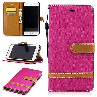 Case for Apple iPhone 7 plus jeans cover cell phone protective cover case pink