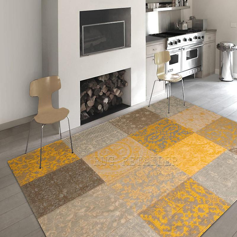 Rugs - Vintage - Yellow 8001 - 8084